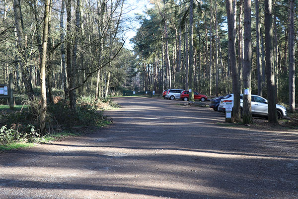 Picture of parking space at Rowney Warren