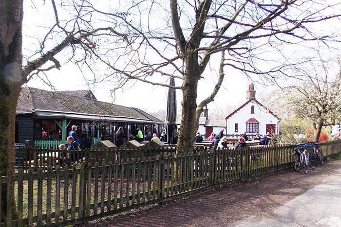 Cafe at Ashridge Estate