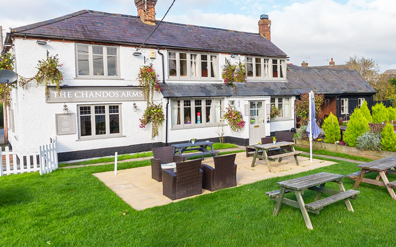 The Chandos Arms at Weston Turville