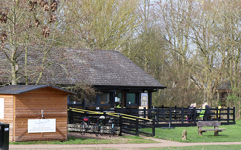 The Dragonfly Cafe at Harrold-Odell Country Park