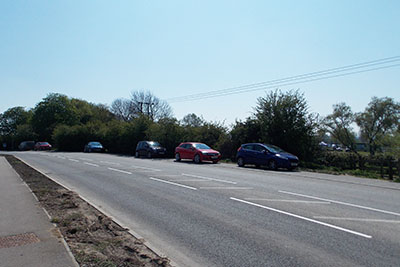 Free parking in Green Lane