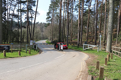 Entrance to Rushmere Country Park