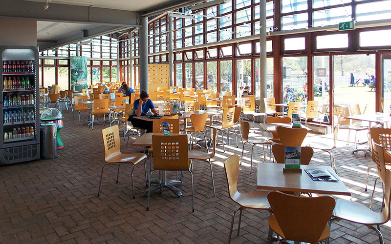 Forest Centre Cafe at Marston Vale