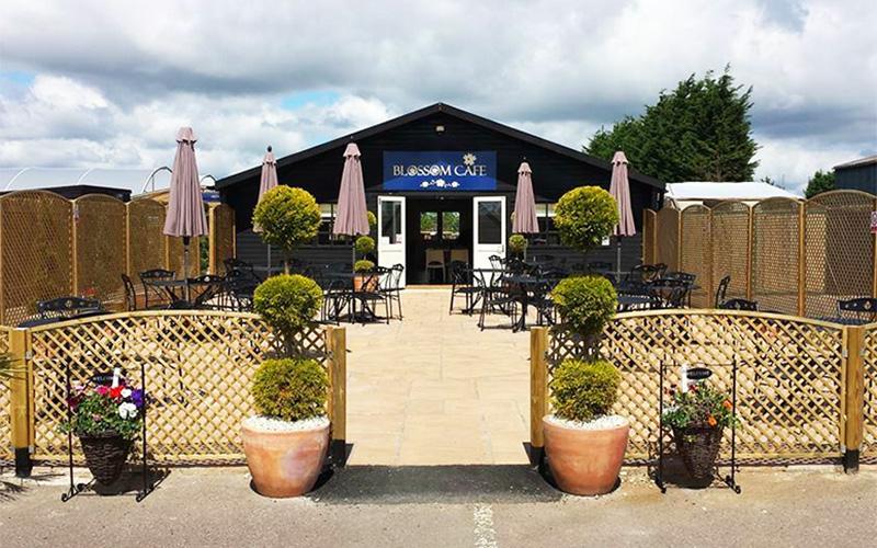The Blossom Cafe at Willington Garden Centre