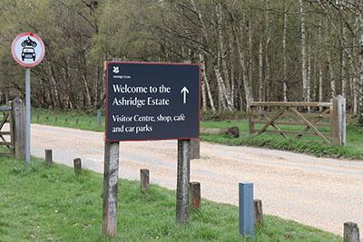 Entrance to Ashridge Estate