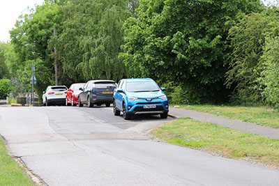Alternative parking at Rye Meads
