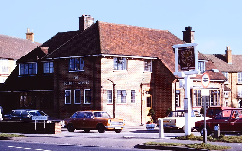 The Golden Griffin pub