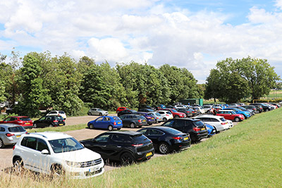 Parking at Royston Heath