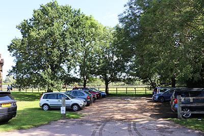 Willington Dovecote car park