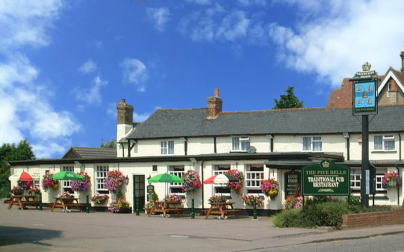 The Five Bells at Henlow