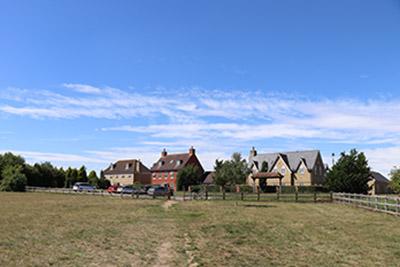 Millennium Meadow parking.