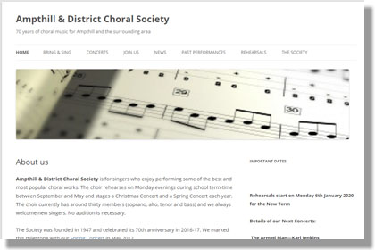 Ampthill and District Choral Society