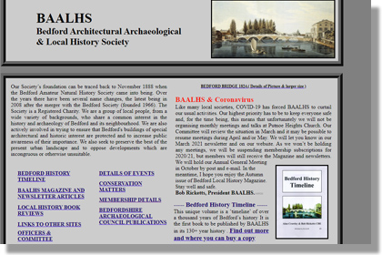 Bedford Architectural Archaeological and History Society