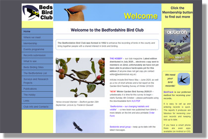 Bedfordshire Bird Club