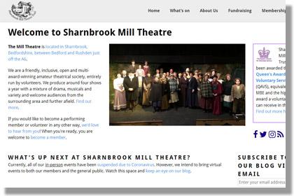 Sharnbrook Mill Theatre Trust