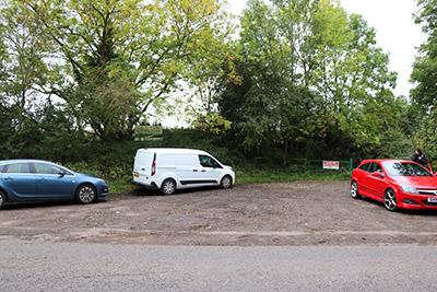 Stevington Windmill parking spot