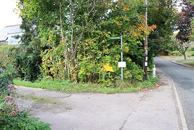 Off Longsalde Lane opposite Woburn Golf Club