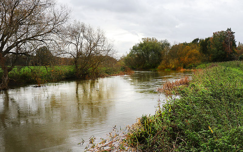 River Great Ouse on the Roxton Circular Walk